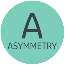 Asymmetry icon